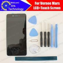 فيرني المريخ شاشة الكريستال السائل محول الأرقام بشاشة تعمل بلمس 100% الأصلي اختبار LCD شاشة الزجاج لوحة ل المريخ أدوات لاصق