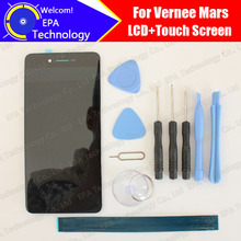 Vernee Mars LCD Display+Touch Screen Digitizer 100% Original Tested LCD Screen Glass Panel  For Mars+tools+ Adhesive