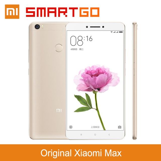 """Оригинал Xiaomi Mi Max Премьер 3 ГБ RAM 32 ГБ ROM 6.44 """"4850 мАч Мобильного Телефона"""
