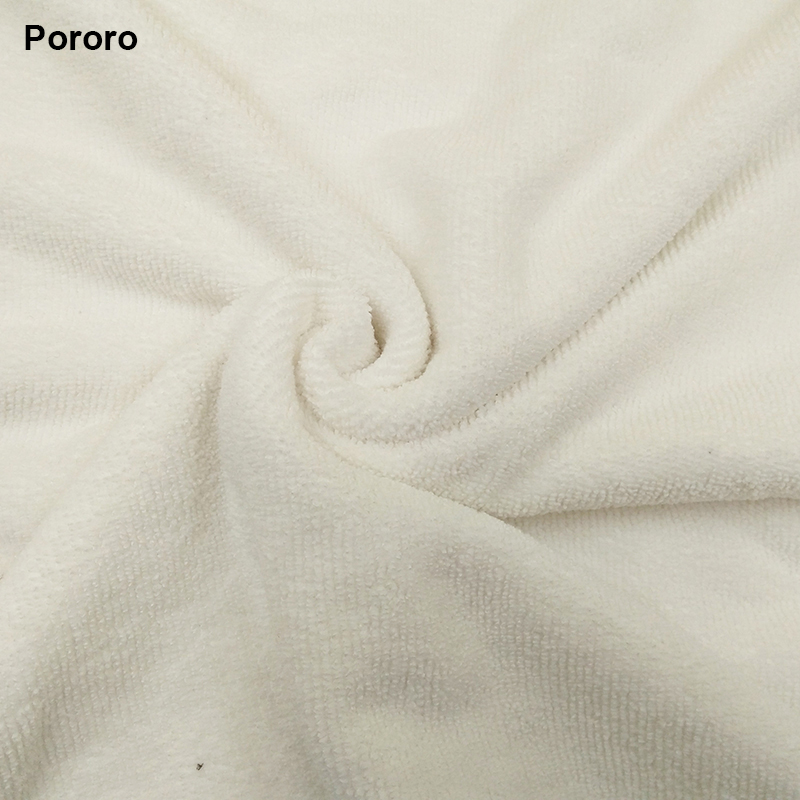 Pororo White Color Super Absorbent Microfiber Fabric For Reusable Baby Cloth Diaper
