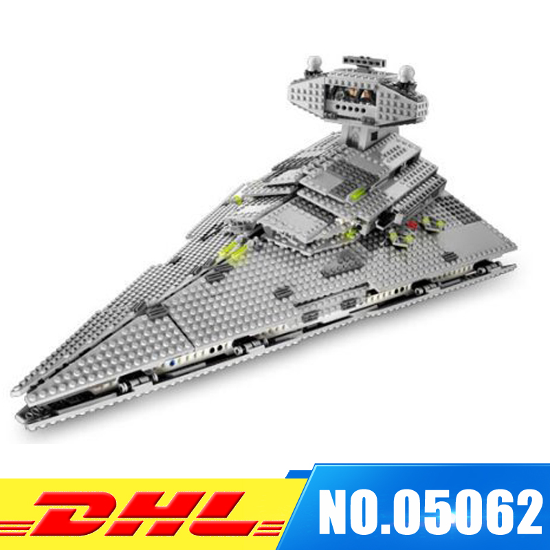 Lepin 05062 UCS Series The Imperial Super Star Destroyer Set Building Blocks Bricks Compatible Educational Toys Gift 75055 lepin 22001 pirate ship imperial warships model building block briks toys gift 1717pcs compatible legoed 10210
