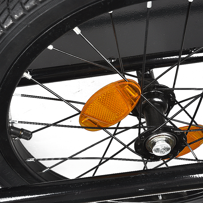 Складной двойной колесо велосипеда трейлер 60 кг Чемодан домашних животных корзину перевозчику дождевик для Фитнес Бодибилдинг черный