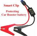2017 portátil smart cabo do impulsionador do carro bateria de carro para carro saltar de arranque curto circuito proteger sobrecarga constante regulador