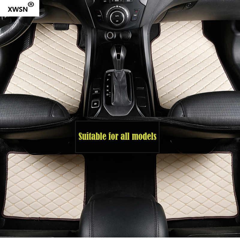 العالمي سيارة الطابق حصيرة ل bmw g30 bmw e90 f01 f10 f11 f25 f30 f45 x1 x3 f25 x5 f15 e30 e34 e60 e65 e70 e83 320 اكسسوارات السيارات