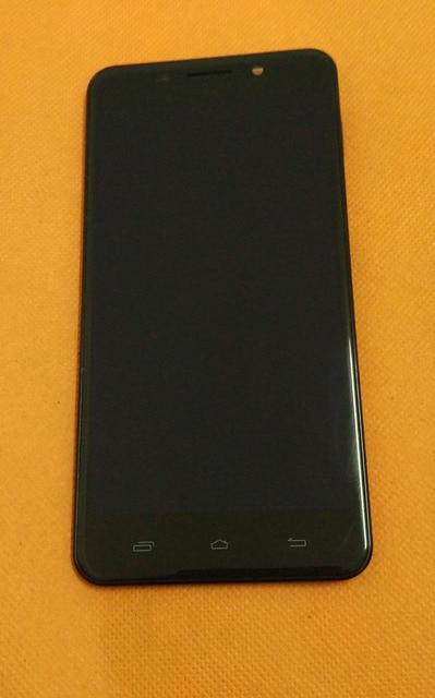 사용 된 원래 LCD 디스플레이 + 디지타이저 터치 스크린 + 프레임 Ulefone 금속 5 인치 HD MTK6753 Octa 코어 무료 배송