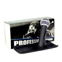 SM 5858LCสายเสียงคาราโอเกะไมโครโฟนแบบไดนามิกมืออาชีพไมค์สำหรับSM58LCสตูดิโอร้องเพลงผสมดีเจเสียงM Icrofone Microfonoไมค์