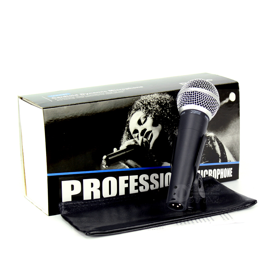 SM 58LC Wired Vocal Karaoke Microphone Professional Dynamic Mic For SM58LC Studio Sing DJ Mixer Audio Microfone Microfono Mike image