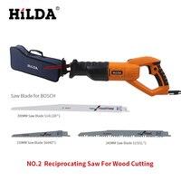 Hilda 950 W Sierra carpintería sierra eléctrica 6 velocidad eléctrica portátil Saws220v/50Hz scroll saw jig saw para el corte de madera