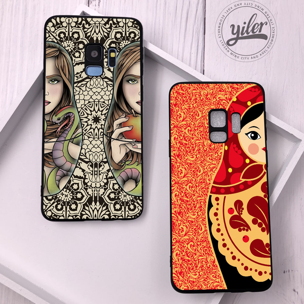 Matryoshka Case for Samsung Galaxy S9 Plus Case for Samsung S9 S10 e Couqe for Galaxy S8 Case for S7 edge S8 S9 S10 Plus Cover in Fitted Cases from Cellphones Telecommunications