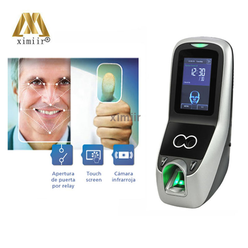 MultiBio 700 / Iface7 With Facial Recognition Attendance Machine Face & Fingerprint Access Control And Time Attendance
