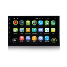 1024 x 600 2 din car radio gps Android 5.1 Car GPS Navigation multimedia player WIFI RDS steering-wheel