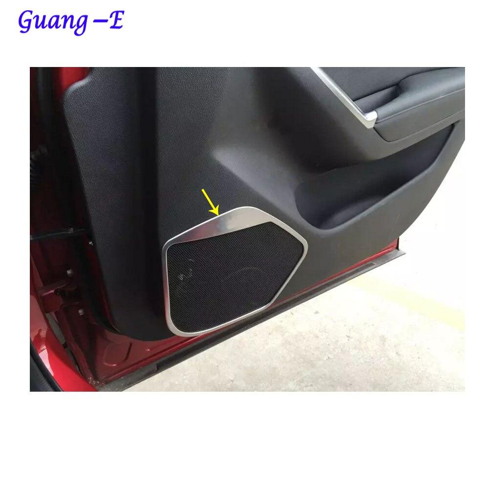 Dla Mazda CX-5 CX5 2013 2014 2015 2016 drzwi samochodu Styl detektor - Akcesoria do wnętrza samochodu - Zdjęcie 3