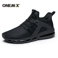 Onemix 2018 New Air cushion running shoes men breathable mesh sneakers for outdoor walking trekking shoes women sports sneakers