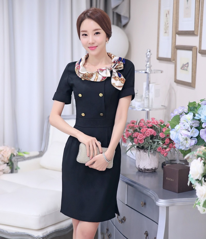 Book of womens uniform dresses in singapore by olivia for Spa uniform singapore