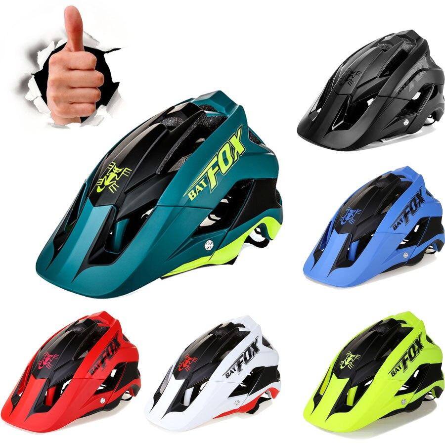 2019 Radfahren Helm Frauen Männer Fahrrad Helm Mtb Bike Mountain Road Radfahren Sicherheit Outdoor Sport Leicht Großen Visier Helm