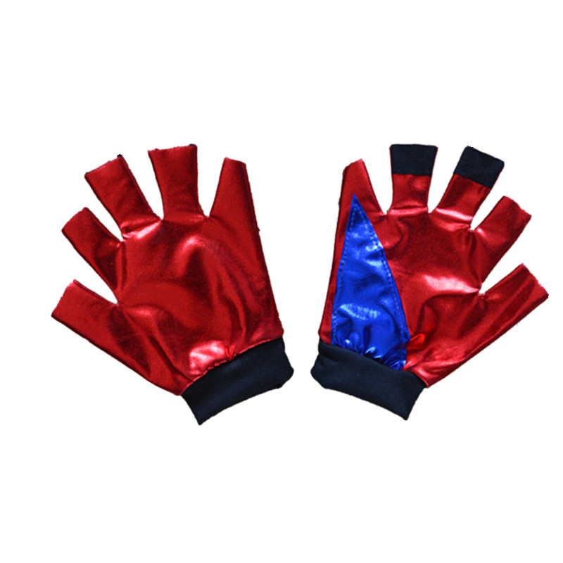 New Harley Quinn Girls Gloves Women Adult Suicide Squad Harley Quinn Gloves Cosplay Costumes