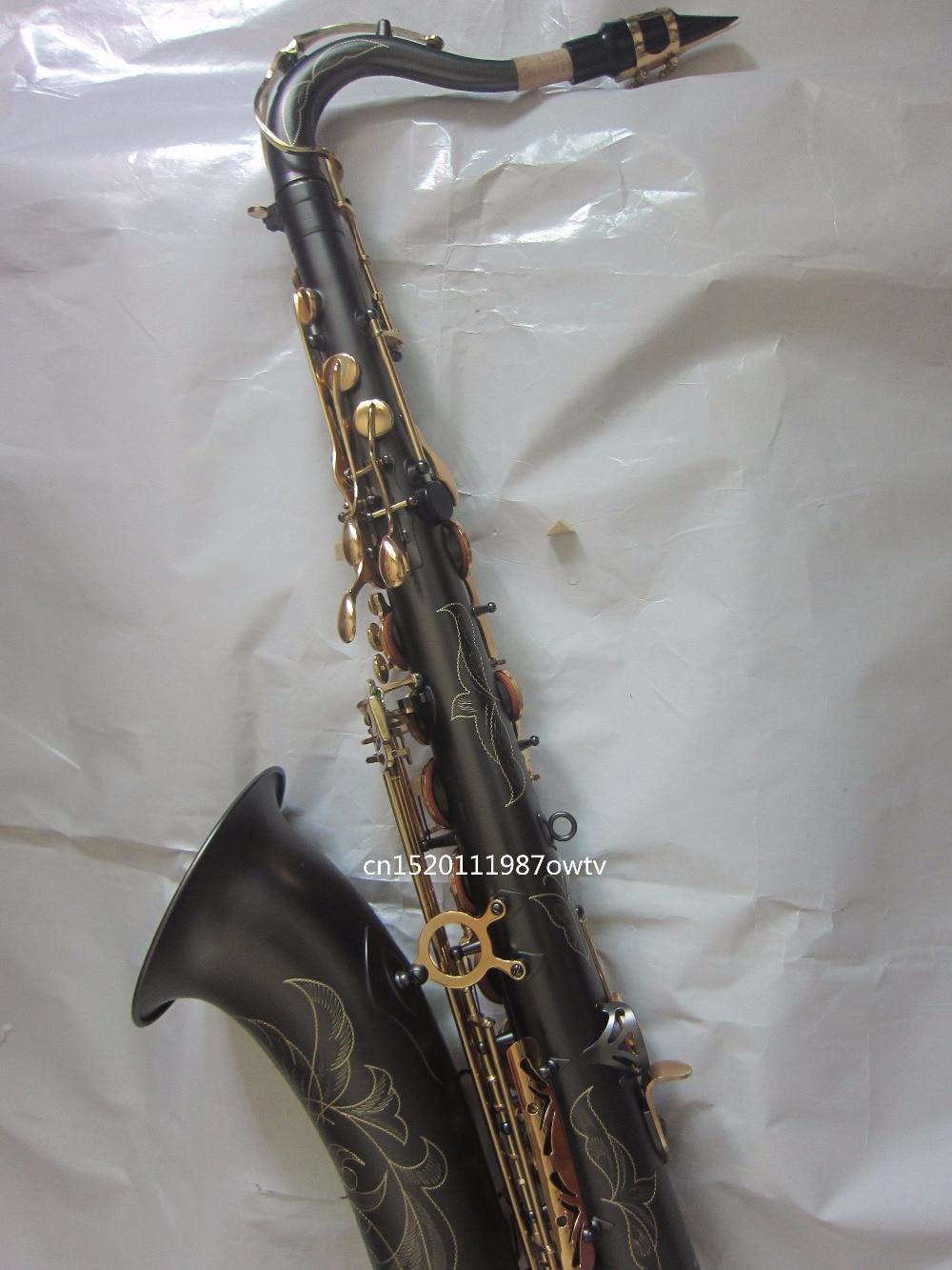Alta Calidad Saxofón Saxo Libre Tenor Real Fotos Exqwgtws Viento Envío l13TKc5FJu