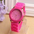 Paradise 2017 1PC Fashion Women Flower Printing Silicone Watch Quartz Watches Gift  wholesale  Apr15