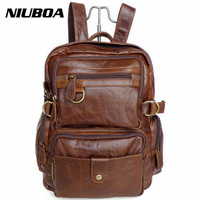 100 Genuine Leather Backpack Top Quality Fashion Cowhide Backpack Women S Men S Back Pack Unisex