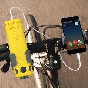 Image 1 - חדש חיצוני רמקול רכיבה על אופניים נייד אלחוטי Bluetooth רמקול עם חירום כוח טעינה חזק אור פנס רמקולים