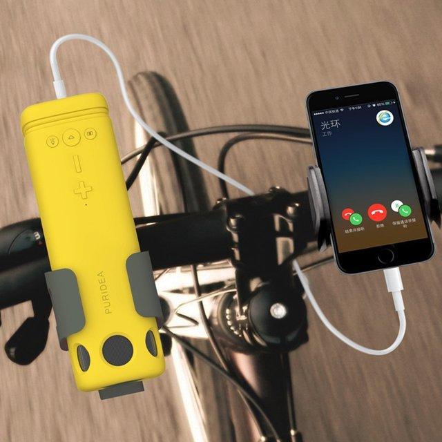 חדש חיצוני רמקול רכיבה על אופניים נייד אלחוטי Bluetooth רמקול עם חירום כוח טעינה חזק אור פנס רמקולים
