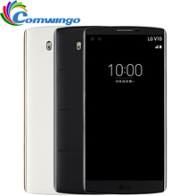 Original LG V10 4GB RAM 64GB ROM 2900mAh Android 5.1 16MP Hexa Core 5.7'' 2560*1440 4G LTE Smart Cellphone lgv10 Phone