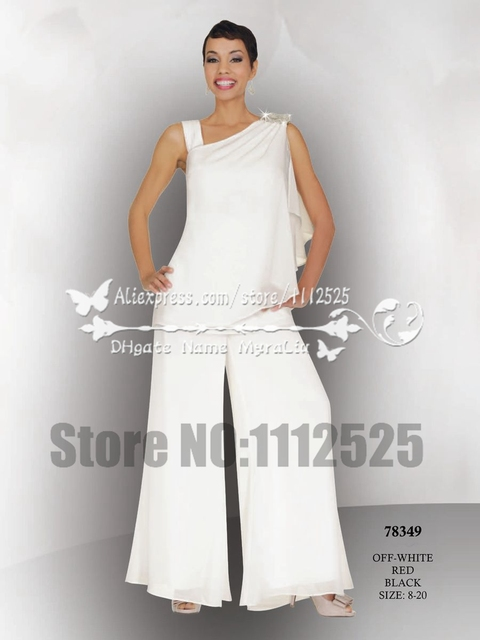 Two Piece Chiffon Mother of the Bride Dresses