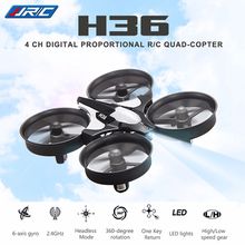 JJRC H36 2.4G 4CH 6-Axis Gyro Mini RC Helicopter Drone Toy Headless Mode One Key Return RC Quadcopters Gift Blue