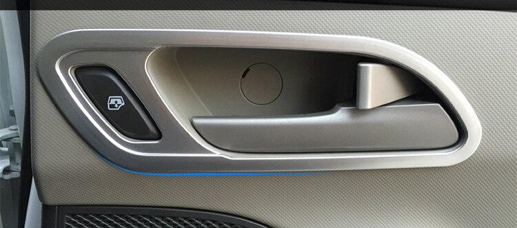 4pcs For Chevrolet sail 3 2015-2016 Inside handle Decorative frame