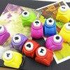 Мини перфораторы для скрапбукинга ручной резак карты Ремесло Calico печать DIY цветок Бумага Ремесло Дырокол форма перфоратора