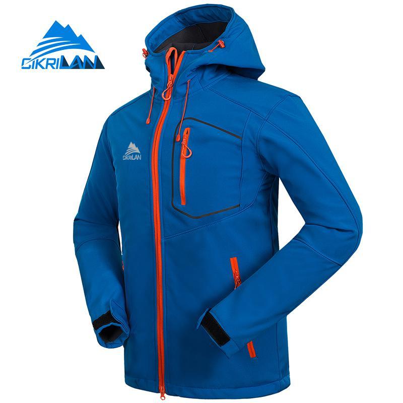 cikrilan homens caminhadas jaquetas de acampamento softshell 01