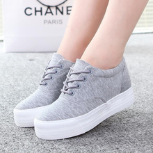 Women canvas <font><b>shoes</b></font> 2016 spring summer women Platforms <font><b>shoes</b></font> women's casual <font><b>shoes</b></font> zapatillas mujer 06