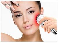 Beauty Machine Hot Cold Massage Facial Massager Face Lift Skin Care Vibrate Acupuncture Health Care Apparatus