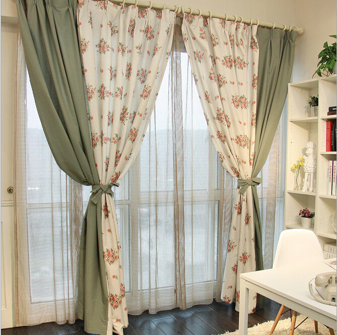 Curtains Ideas country home curtains : Country Style Curtains Living Room - Kaisoca.com