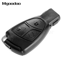 3 Button Replacement Remote Smart Insert Key Flip Fob Case Shell Holder For MERCEDES BENZ C E B S CLS CLK ML SLK CL Uncut Blade 3 button remote car key shell case uncut blade replacement key fob for mercedes benz smart fortwo 450 keyless entry case