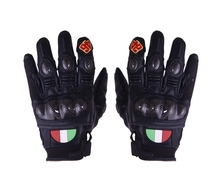 Новый РОССИ 46 Кожаные Перчатки Мотоцикла Гонки Вооруженные перчатки РАЗМЕР M, L, XL 3 цвет