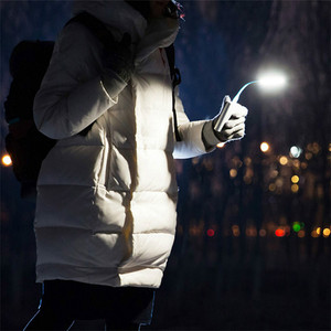 Image 2 - Original Xiaomi Mijia USB LED Light With Switch 5 levels brightness USB for Power bank laptop Notebook Portable LED lamp