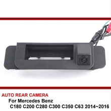 For Mercedes Benz C180 C200 C280 C300 C350 C63 14~16 Night Vision Car Reverse Backup Parking Rear View Camera HD CCD