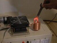 ZVS endüksiyon ısıtıcı Yüksek Frekans Söndürme Orta Frekanslı Indüksiyon ısıtma fırını Musluk Suyu Olmadan
