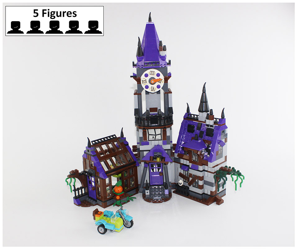 Compatible Scooby Doo Mystery Machine Mansion 860pcs 75904 Building Bricks Pack