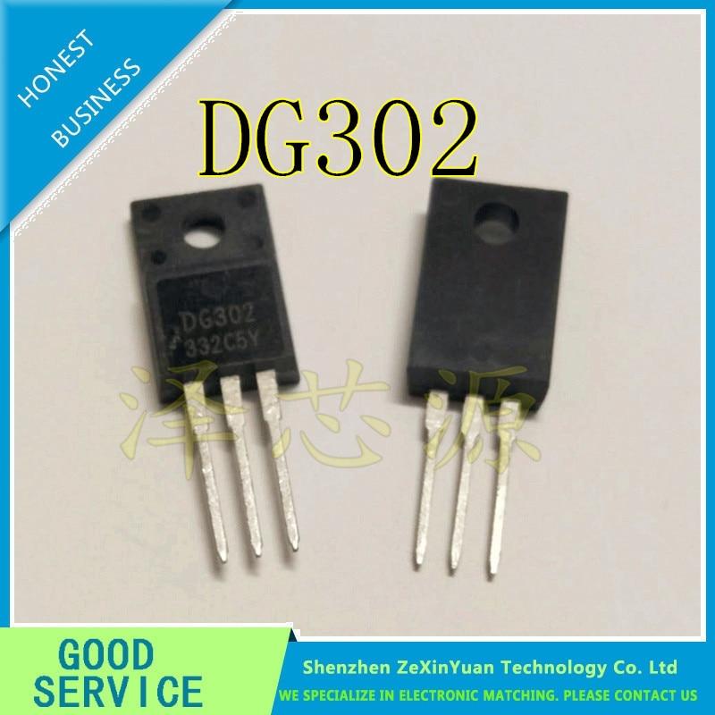10PCS/LOT DG302 TO-220 DG302 TO-220F LCD PLASMA POWER MOS TUBE NEW