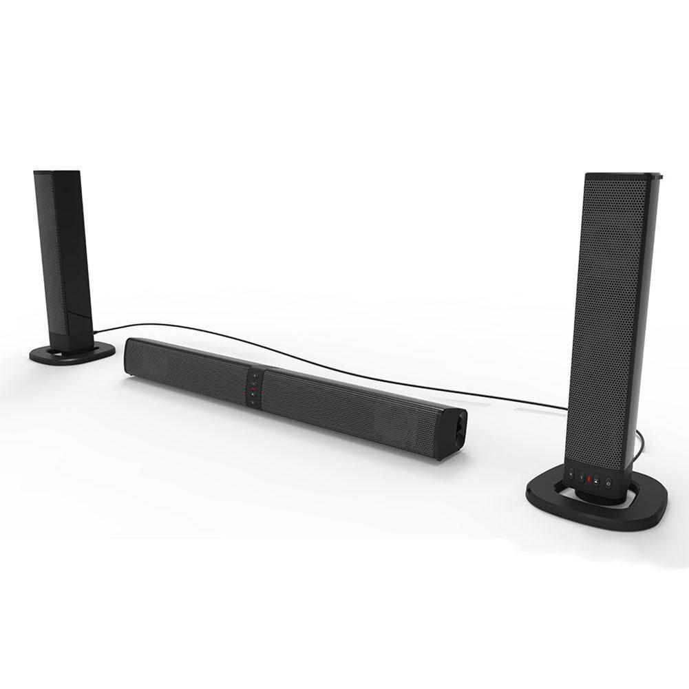 Lautsprecher Soundbar Methodisch Neue Bs-36 Sound Blaster Soundbar Tragbare Bluetooth Lautsprecher Innovative Modische Faltbare Split Tv Lautsprecher Altavoz Bluetooth