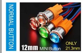 LANBOO производитель 16 мм 12V110V 24V 220V Светодиодный светильник с высоким током 10A мощный фиксатор мгновенный самоблокирующийся кнопочный переключатель