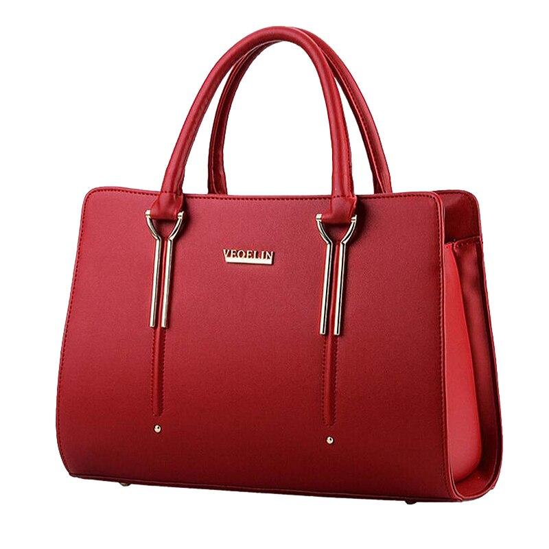 Women\'S Handbags Women Shoulder Bags Excellent Women Leather Handbags Ladies Tote Bag Designer Female Handbags Woman Bags