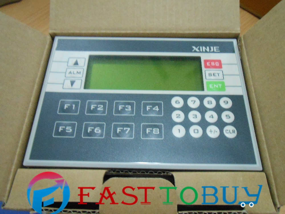 Integrated   PLC Controller  XP2-18R 10-point Digital Input 8-point  3.7 Blue LCD Integrated PLC & HMI New c500 bat08 plc controller battery