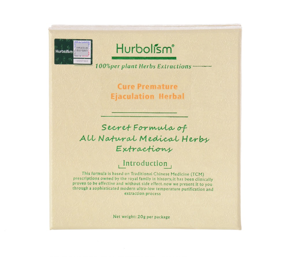Hurbolism New Update TCM Herbal powder to Treat Premature Ejaculation. Extend Sex Time. Increase Sperm, Strengthen Body.