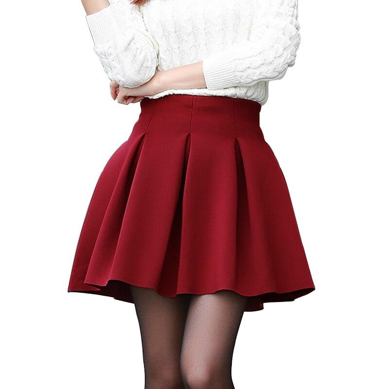 Fashion Sexy Women Skirt Fall Witer Warm Short Skirt Plus Size High Waist Skirts High-quality Cotton Space Tutu Pleated Skirt cynthia cee c nwadiora
