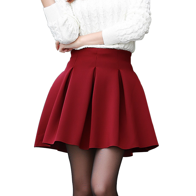 fashion skirt fall witer warm skirt plus
