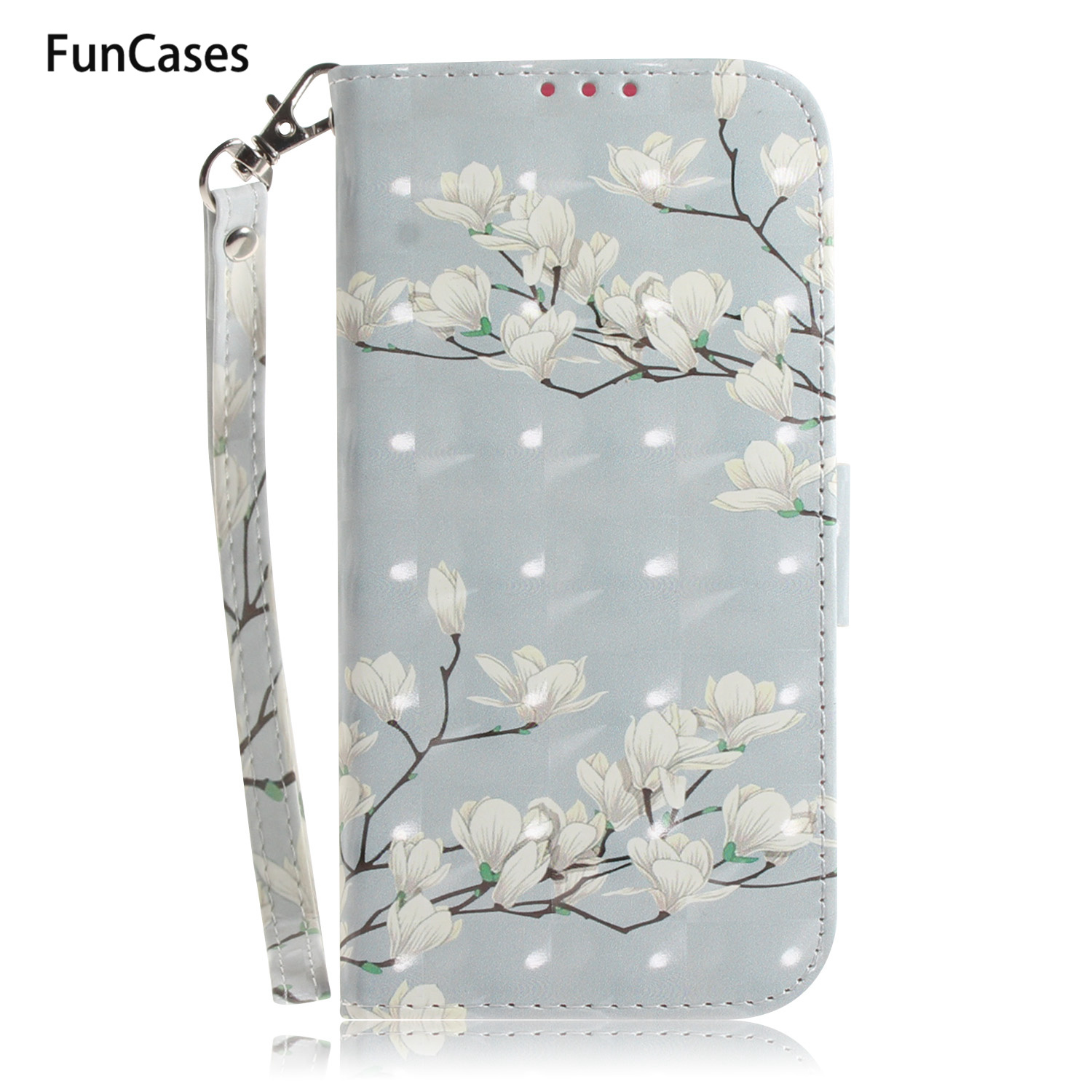 Leopard 3D Book Phone Case For accesorios <font><b>Huawei</b></font> P30 sFor <font><b>Huawei</b></font> capa P20 Lite Pro <font><b>Y5</b></font> <font><b>2018</b></font> Y6 Y9 2019 Movil Wallet Flip Case image