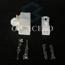 2 комплекта 2 Pin 7282-5845 7283-5845 автомобильное считывающее устройство вилка катушки Автомобильная световая розетка для Toyota